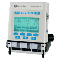 A compact, versatile, multi-channel infusion system.