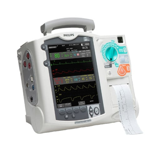 For whatever you face in a day, the HeartStart MRx is built to be tough and ready for action. The HeartStart MRx is designed to meet stringent test requirements including…