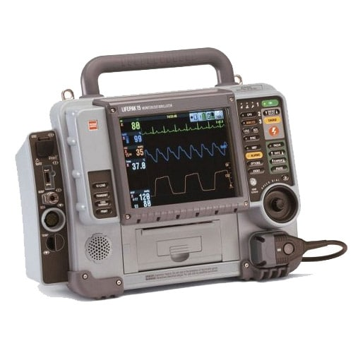The LIFEPAK® 15 monitor/defibrillator is the new standard in emergency care for ALS teams who want the most clinically innovative, operationally innovative and LIFEPAK TOUGH device available today. The 15…