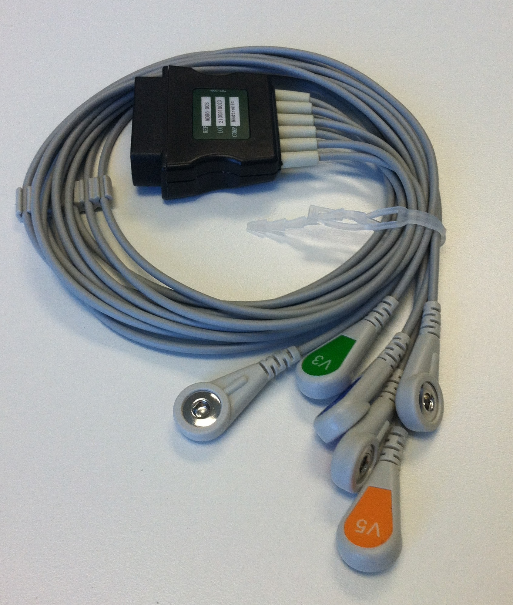 Physio Control LifePak 12 and 15 V-Lead Cable