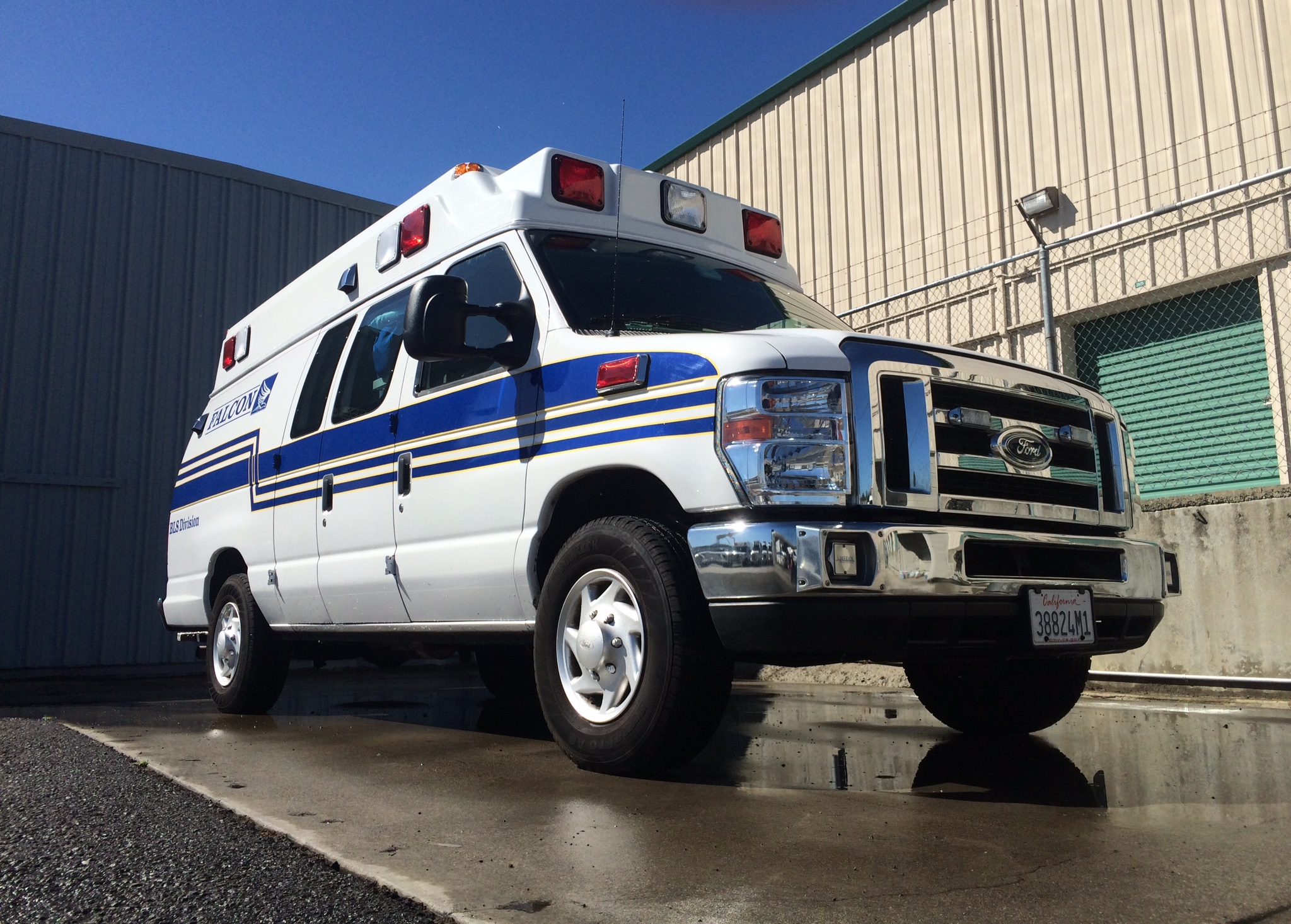 Falcon Ambulance in El Sobrante Ca. just added 5 brand new ambulances to their fleet.