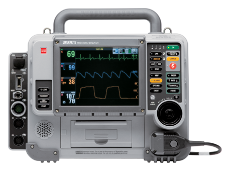 THIS UNIT IS BIPHASIC WITH PACING AND 3 LEAD ONLY