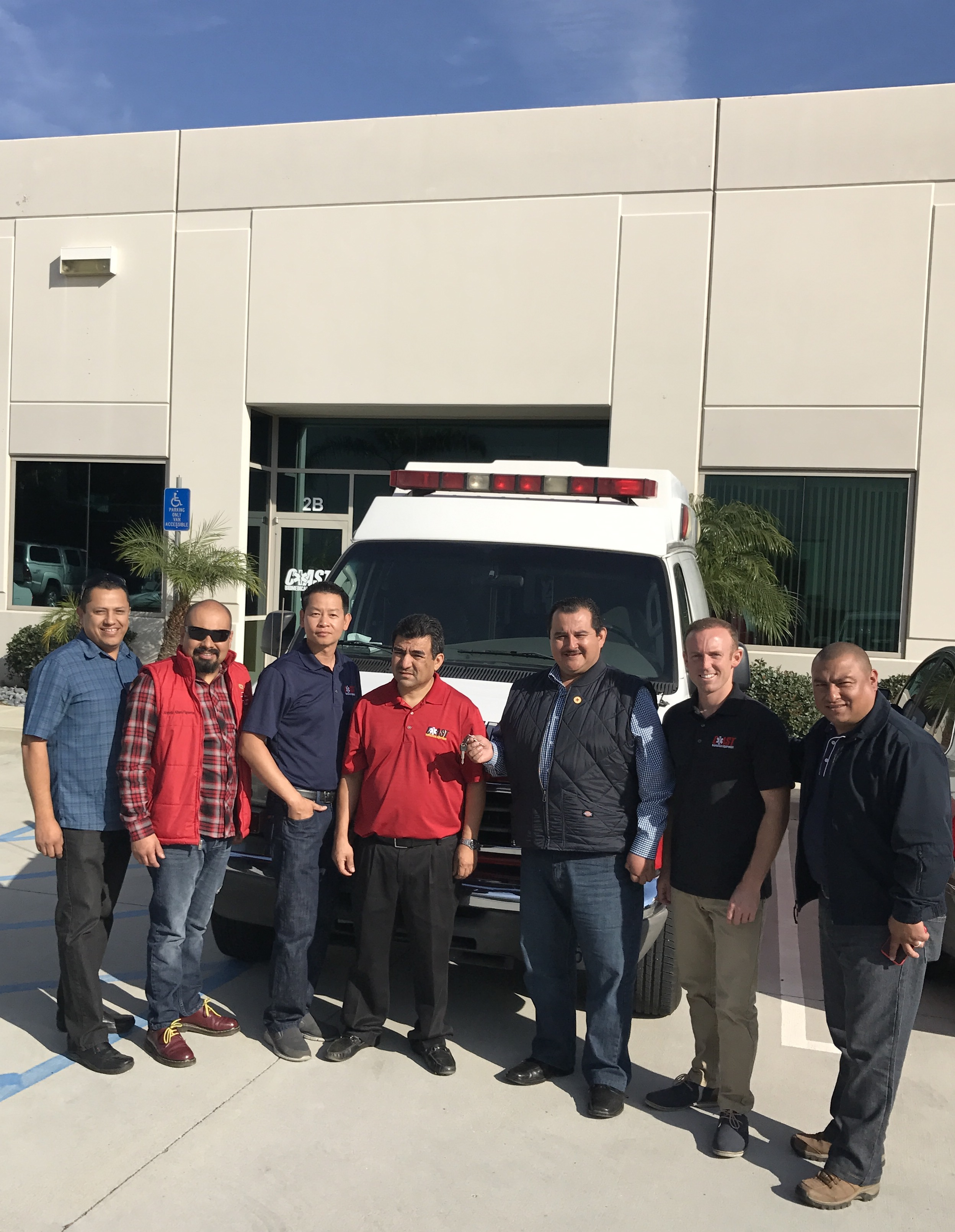 On November 23rd in partnership with Schaefer Ambulance Service, Coast Biomed was proud and honored to donate a fully loaded ambulance including gurney and monitor to the Red Cross (Cruz Roja Rosarito). …