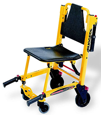 STRYKER 6251 STAIR CHAIR REFURBISHED