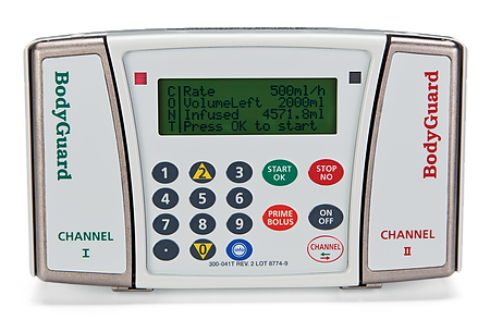 2 Independent Infusion Channels