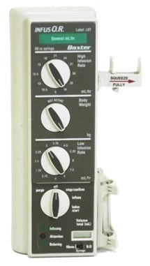 Syringe pump style infusion pump…